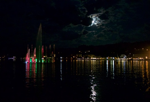 Velden by night
